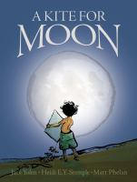 Cover illustration for A Kite for Moon