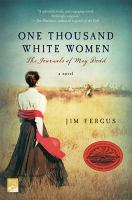 Cover illustration for One thousand white women