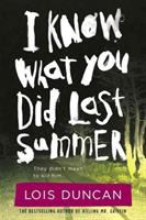 Cover illustration for I Know What You Did Last Summer
