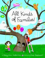 Cover illustration for All kinds of families!