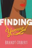 Cover illustration for Finding Yvonne