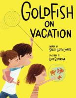 Cover illustration for Goldfish on Vacation
