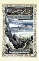Cover illustration for The Fellowship Of The Ring