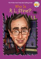 Cover illustration for Who is R.L Stine