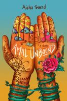 Cover illustration for Amal unbound