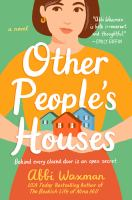 Cover illustration for Other people's houses