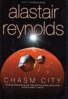 Cover illustration for Chasm City