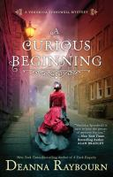 Cover illustration for A Curious Beginning: A Veronica Speedwell Mystery