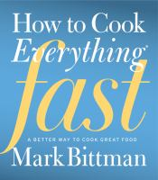 Cover illustration for How to cook everything fast