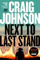 Cover illustration for Next to Last Stand