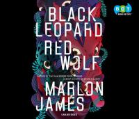 Cover illustration for Black Leopard, Red Wolf