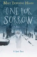 Cover illustration for One for sorrow : a ghost story
