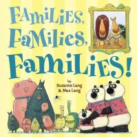 Cover illustration for Families, Families, Families!