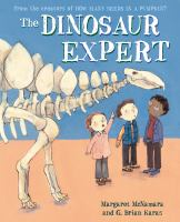 Cover illustration for The Dinosaur Expert