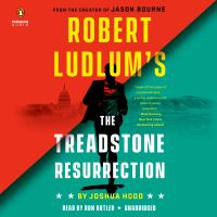 Cover illustration for Robert Ludlow's The Threadstone Resurrection