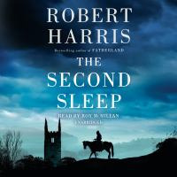 Cover illustration for The Second Sleep