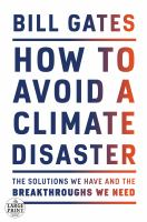Cover illustration for How to Avoid a Climate Disaster