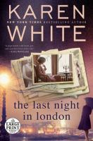 Cover illustration for The Last Night in London