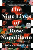 Cover illustration for Nine Lives of Rose Napolitano
