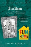 Cover illustration for Fun home : a family tragicomic