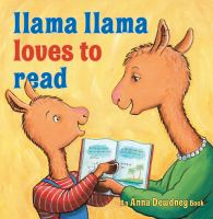 Cover illustration for Llama Llama Loves to Read