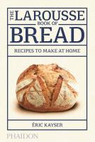 Cover illustration for The Larousse book of bread
