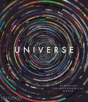 Cover illustration for Universe : exploring the astronomical world