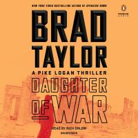 Cover illustration for Daughter of War