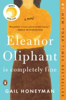 Cover illustration for Eleanor Oliphant is Completely Fine