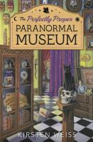 Cover illustration for Perfectly proper paranormal museum