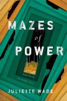 Cover illustration for Mazes of Power