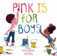 Cover illustration for Pink is for Boys