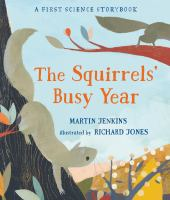 Cover illustration for The Squirrels' Busy Year