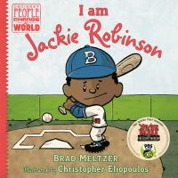 Cover illustration for I am Jackie Robinson