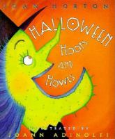 Cover illustration for Halloween Hoots and Howls
