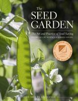 Cover illustration for The seed garden : the art and practice of seed saving