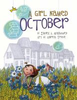 Cover illustration for A Girl Named October
