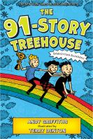 Cover illustration for The 91-Story Treehouse