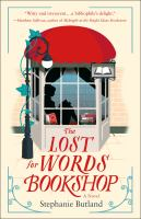 Cover illustration for The Lost for Words Bookshop