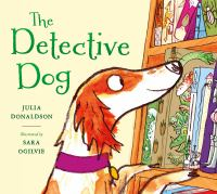 Cover illustration for Detective Dog