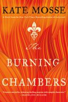 Cover illustration for The Burning Chambers