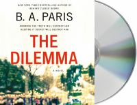 Cover illustration for The Dilemma