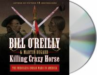 Cover illustration for Killing Crazy Horse