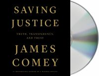 Cover illustration for Saving Justice
