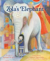Cover illustration for Zola's Elephant