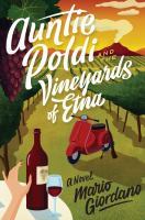 Cover illustration for Auntie Poldi and the Vineyards of Etna