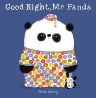 Cover illustration for Good night, Mr. Panda