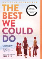 Cover illustration for The Best We Could Do: A Memoir