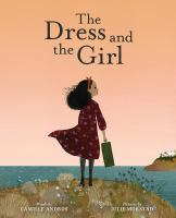 Cover illustration for The Dress and the Girl