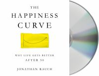 Cover illustration for The Happiness Curve